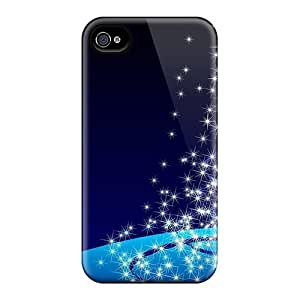For Case Samsung Galaxy S4 I9500 Cover YCO16587pEjd Christmas Tree Stars Cases Covers. Fits For Case Samsung Galaxy S4 I9500 Cover