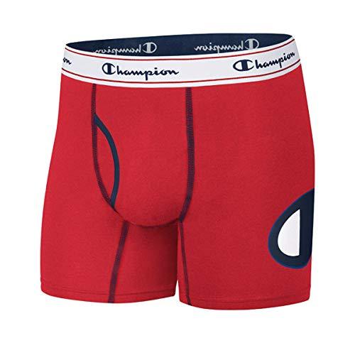 C Logo Boxer Brief, red, Large ()