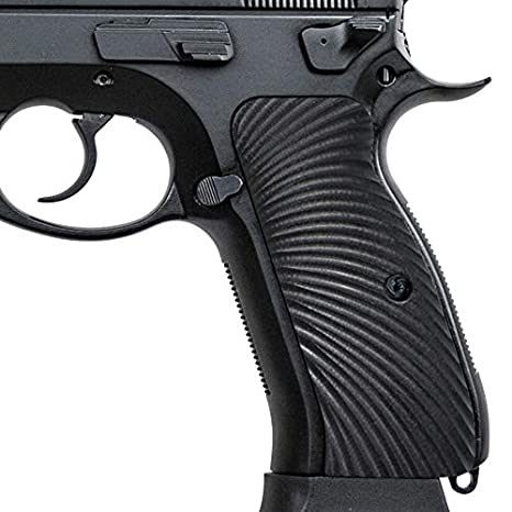 Guuun G10 CZ Grips for CZ 75 Full Size SP-01, Sunburst Texture