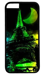 3D Abstract Eiffel Special Moon Thanksgiving Easter PC Black Case for Masterpiece Limited Design iphone 6 plus by Cases & Mousepads