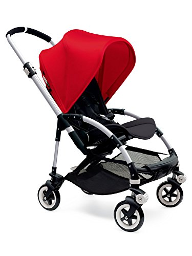 Bugaboo Bee3 Stroller - Red/Black/Aluminum(Stroller not included)