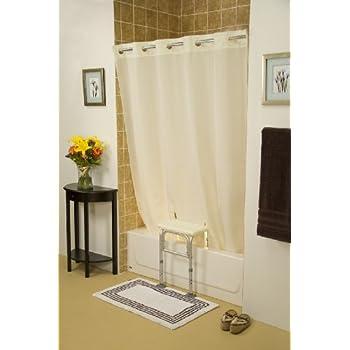 Amazon Com Whitaker White Shower Curtain Health