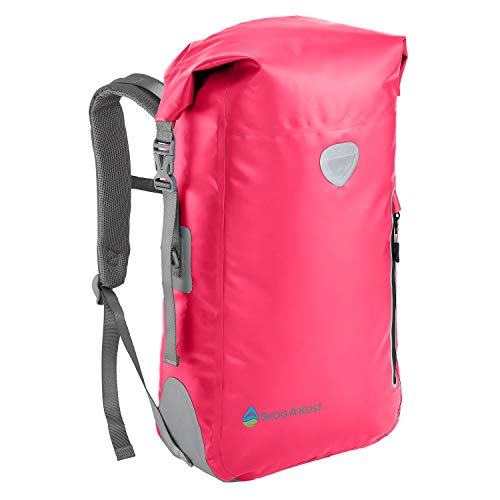 Cushioned Travel Bag - Såk Gear BackSåk Waterproof Backpack | 25L Pink
