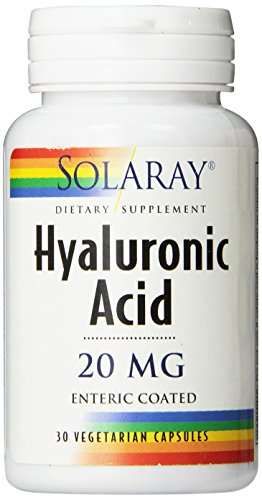 (Solaray Hyaluronic Acid Capsules, 20mg, 30 Count )