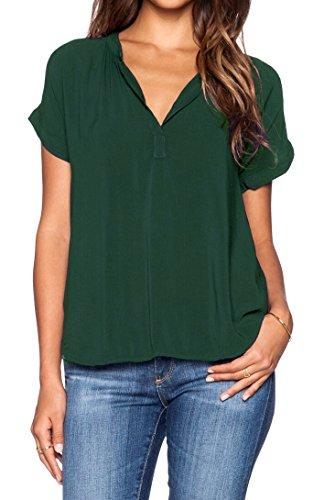 Green Blouse Shirt - 1
