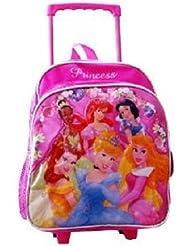 Princess Rolling Backpack - Kid Size Roller Backpack