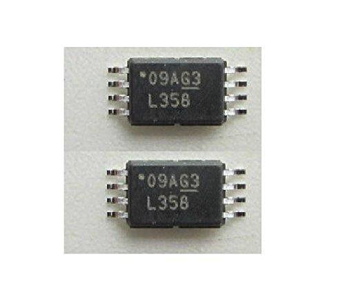 Exiron 2PCS LM358PWR IC OPAMP GP 700KHZ DUAL TSSOP-8