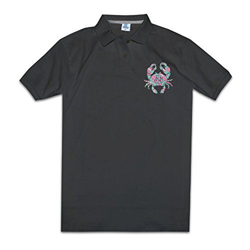 crab-on-a-sunrise-mens-polo-style-xxl-black