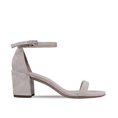 áspera Hadas Tacón Zapatos de Alto Una High Chic 37 Segundo con Sandalias Abiertos de Palabra heels StnqwfH