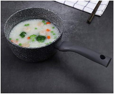 TJLSS Milch Pfannen Töpfe Milch Pot Non-Stick Topf Kleine Pot Nahrungsergänzungs Topf Kleine Milchkanne Instantnudeln Pot Suppentopf Milchtopf Universeller