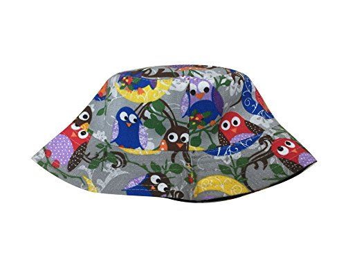 Cappelli Fishing Sun Acvip Bob 2 Travel Stampa Vacation Owl Donna gq5nwU