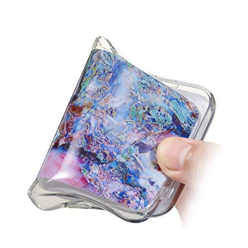 Galaxy Marble 10 Ultra Protettiva Custodia Compatibile Marmo marmo S9 Shell Samsung Case Gel Cover Morbido Sottile Silicone Flessibile Tpu Premium Case Plus Bumper Antiurto Con 7 marmo Ukayfe Design x1qFzHww