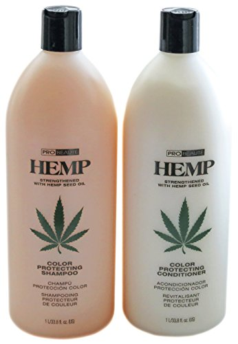 Zotos Hemp Color Protecting Shampoo and Conditioner, 33.79 Ounce (Conditioner Colour Protecting)