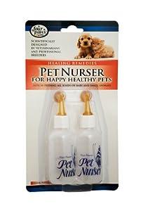 Pet Nurser Bottles Kit, 2.2 oz, 2 Pk from Four Paws Pet Products
