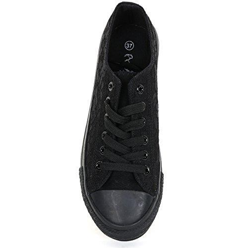 Prendimi by Scarpe&Scarpe - Sneaker mit Hohem Absatz - 39,0, Schwarz