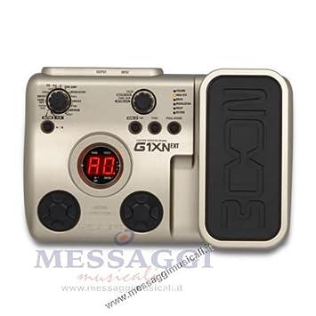 Pedal multiefectos para guitarra eléctrica Zoom G1 X N: Amazon.es: Electrónica