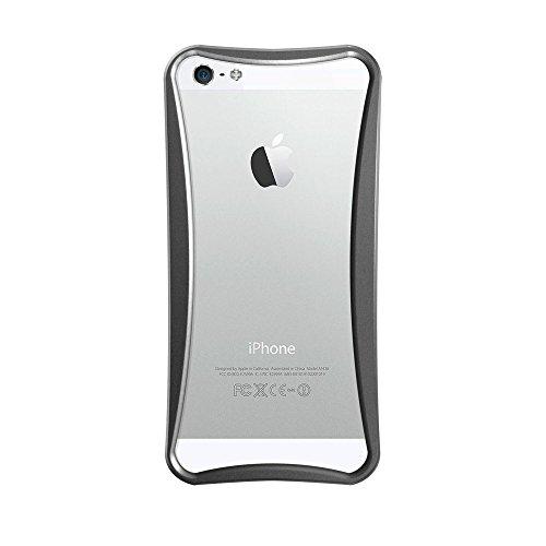 Katinkas KATIP51053 Aluminum Bumper für Apple iPhone 5 Extreme silber