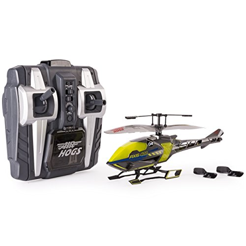 Air Hogs, Axis 400x, 4 Channel RC Helicopter, Yellow, by Spin Master