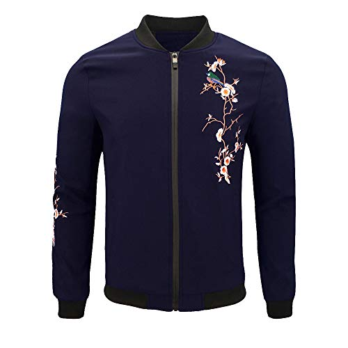 - Nevera Winter Jacket,Men's Casual Solid Biker Motorcycle Zipper Outwear Coat