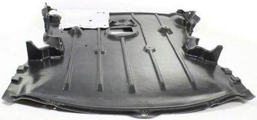 Bmw 128i Coupe - Crash Parts Plus Front Engine Splash Shield Guard for 2008-2013 BMW 128i Coupe BM1228138