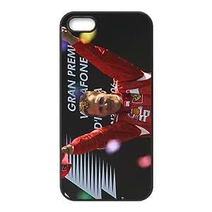 HDSAO Michael Schumacher Black Phone Case for Iphone 5s
