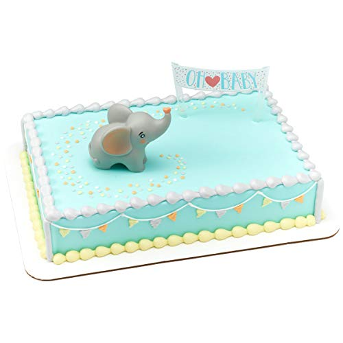 Decopac Oh Baby Elephant Cake Decoration Topper ()