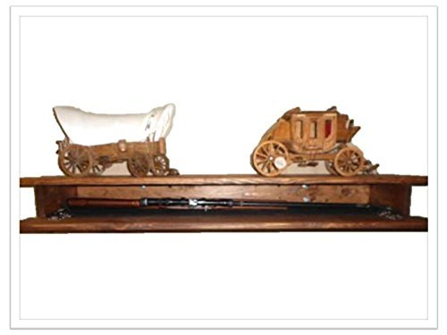 Wooden Fireplace Mantle Shelf Hidden Compartment by VCT WoodWorks