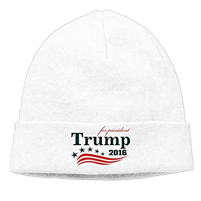 Trump For President 2016 Unisex Beanie Hat Hipster Beanie Cap