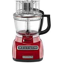 KitchenAid KFP1333ER 13-Cup Food Processor with ExactSlice System - Empire Red