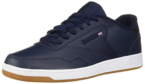 Reebok Men's Club MEMT Walking Shoe, Collegiate Navy/Black, 4 M US ()