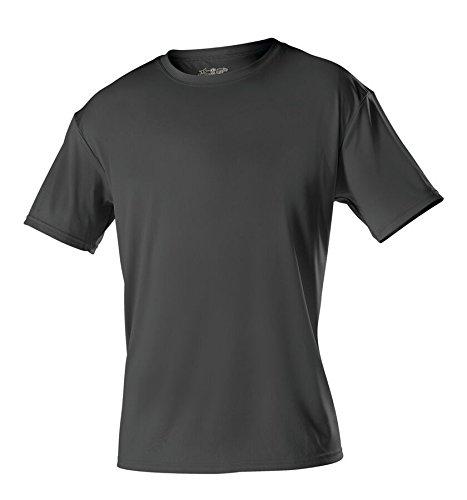 Alleson Ahtletic Men Adult Tech Crew Neck T-Shirt