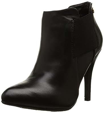 Xti 28418 - Sandalias con tacón para mujer, color negro (noir), talla 37