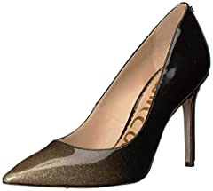 Pointed toe heel available in an array of colors