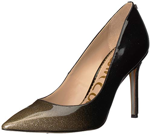 Designer Shoes Heels - Sam Edelman Women's Hazel Pump, Gold Degrade Crystal Patent, 7 M US