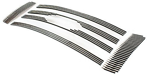 IPCW CWOB-09FD Billet Grille (Bolt-On Polished Aluminum Insert. (F150/F250 LightDuty (XL/XLT/STX models -