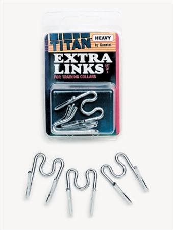 Titan Extra Links for Prong Training Collars - Set of 3 X Heavy 4.0 by Titan