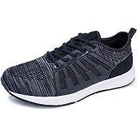 FEIKENIU Casual Mens Shoes Lightweight Mens Sneaker Mesh Running Shoes