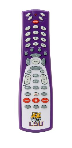 UPC 877435000147, GameChanger 00014 LOUISIANA STATE UNIVERSITY Logo and Colors on ESPN-Enabled Button Universal Remote Control