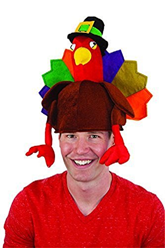 Generic Turkey Hat Adult Pkg/6 by Jacobson Hat Company