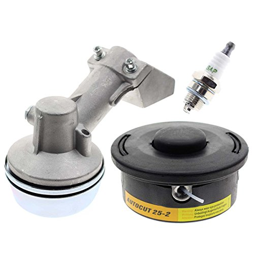 Carbhub Trimmer Head for Stihl Auto cut Go 25-2 Brushcutter FS45 FS48 FS50 FS51 FS55 FS60 FS74 FS76 FS80 FS83 FS85 FS90 FS100 FS106 FS120 Bump Feed Trimmer 4002 710 2191 with Gear Box Head Housing