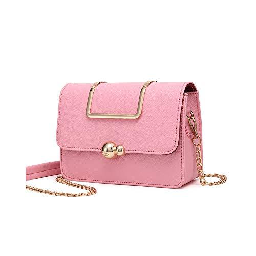 Bag Tote Audburn Crossbody Messenger Rosa Borsa Catena In Pelle Donna Donne A Retro Borse Spalla Elegante qPOH67q