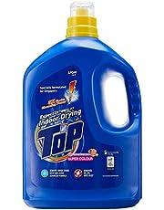 Top Concentrated Liquid Detergent, Super Colour, 4kg