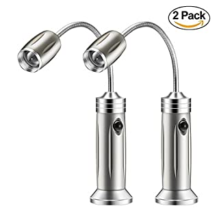 Desk Lamp, OxyLED LED Eye-Caring Table Light, Dimmable Office Lamp with 6-Level Brightness, Desk Reading Light with Flexible Gooseneck, Touch Control with Memory Function, 7W (Silver) (B006Z3JN3G) | Amazon price tracker / tracking, Amazon price history charts, Amazon price watches, Amazon price drop alerts
