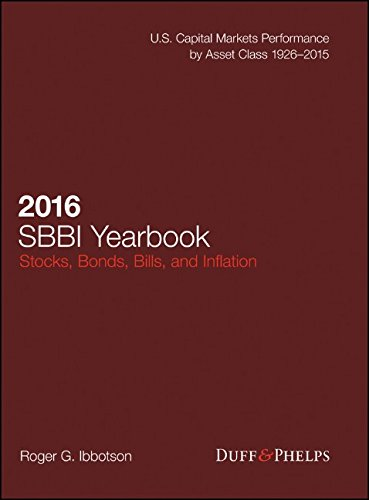 2016 Stocks, Bonds, Bills, and Inflation (SBBI) Yearbook by Wiley