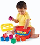 Fisher-Price Brilliant Basics Baby's First Blocks, Baby & Kids Zone