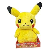 Takaratomy Pokemon XY and Z, New Softer Version, Pikachu XYN-01 Stuffed Plush