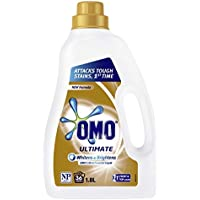 Omo Ultimate Laundry Liquid Detergent Front & Top Loader 1.8L