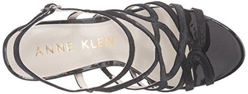 Anne Klein Womens Insists Leather Dress Pump Black