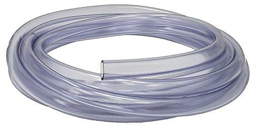 Rollerflex Food Grade Crystal Clear Vinyl Tubing, 3/8-Inch ID x 1/2-Inch OD (10 Ft) - Sanitary Tubing