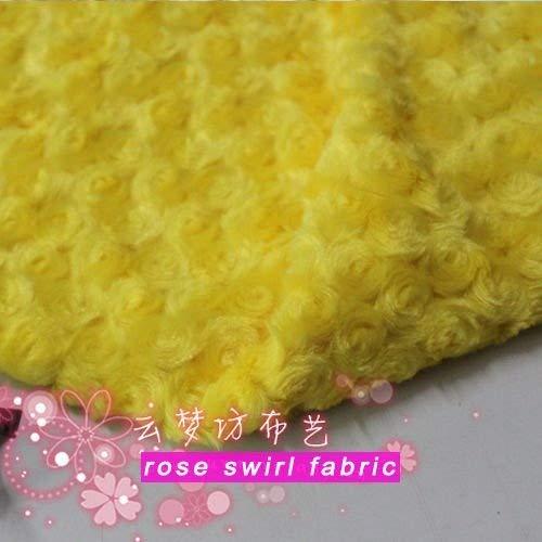 - Rose Swirl Minky Fabric Rosette Cuddle Velboa Minky Plush Swirl Chenille Fabric 60